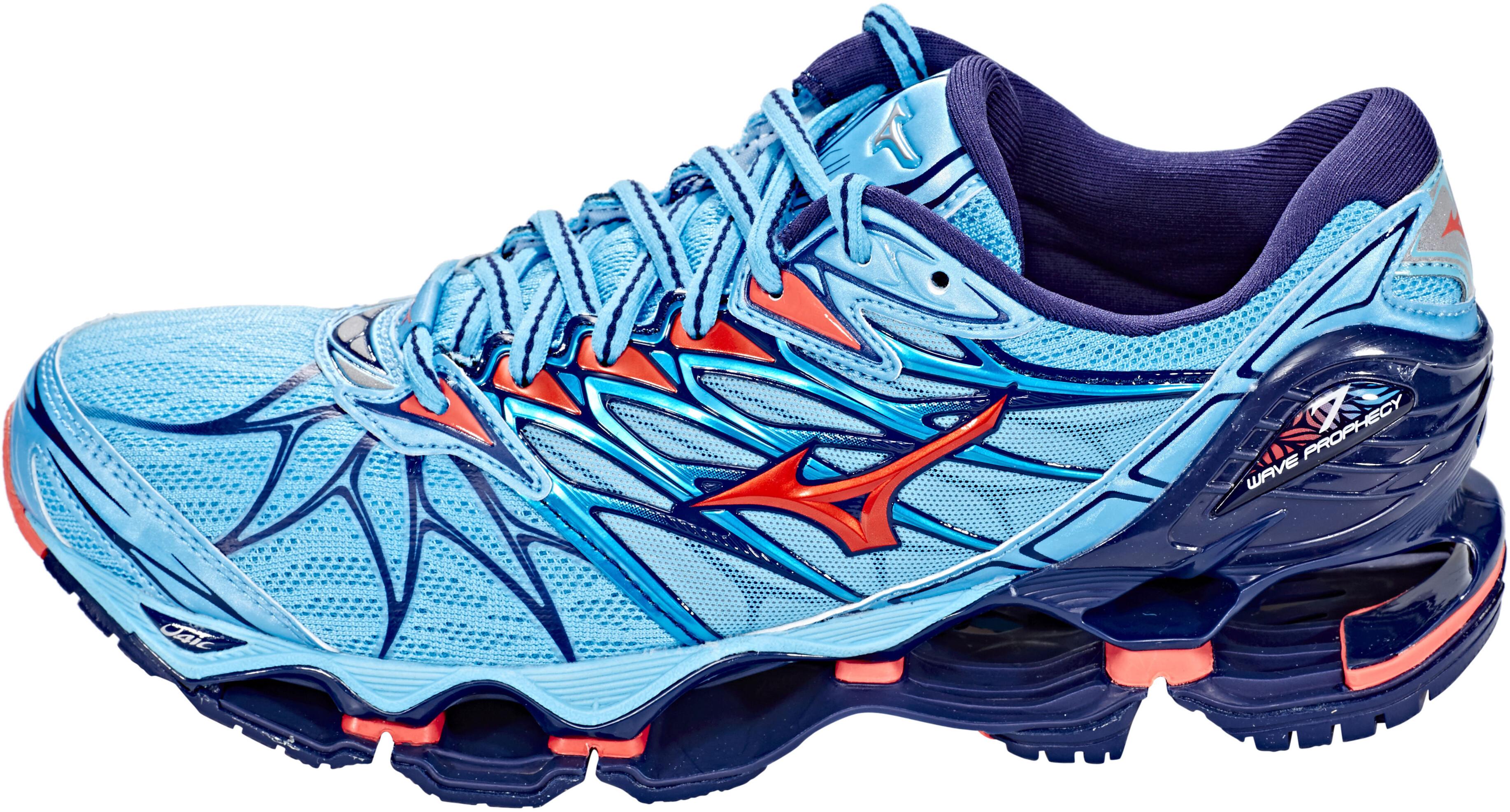 8e887e720e Mizuno Wave Prophecy 7 scarpe da corsa Donna blu su Addnature